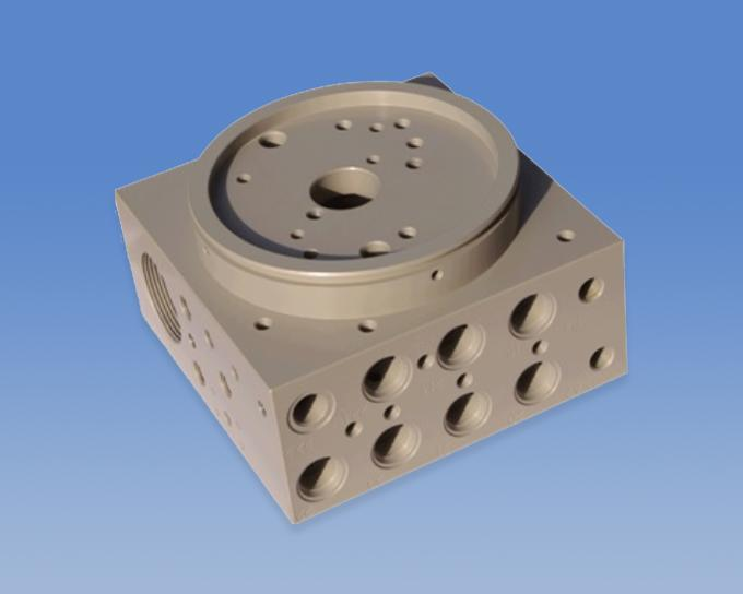 China Carbon Steel Precision Casting Manufacturer -Hydraulic Power Pack Manifold Block